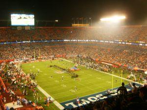 Pregame at the Pro Bowl. Photo by Christina De Nicola
